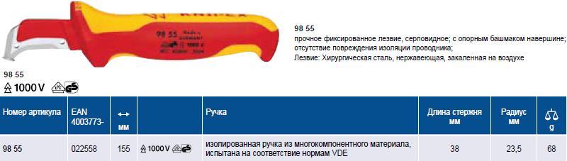 нож для разделки кабеля с  ...
